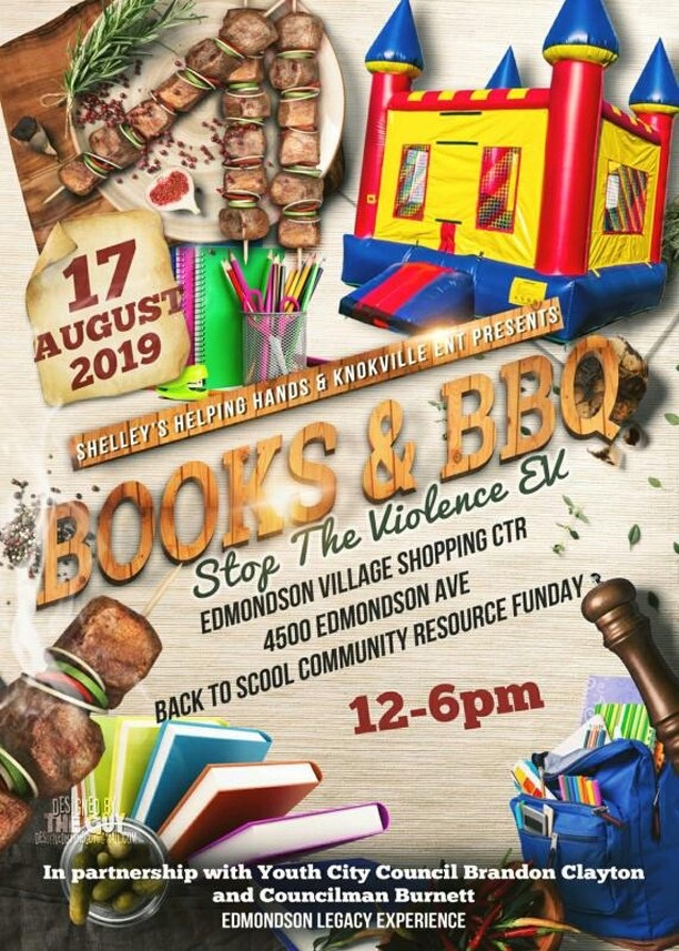 Back 2 School Stop The Violence Books & BBQ